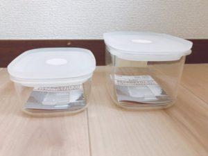 無印良品週間 購入品 おすすめ 買ったもの 保存容器 タッパー