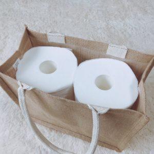無印良品 おすすめ ジュートマイバッグ B5 トイレ 活用法 使い方